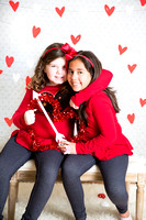 Cassandra and Grace Valentines Session